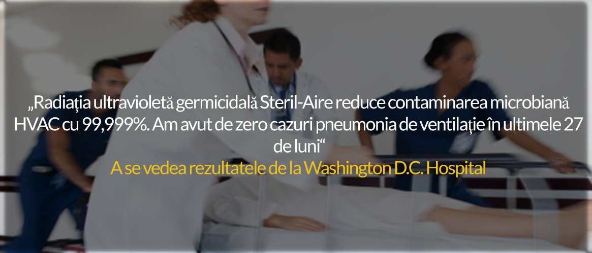 Spital steril aire